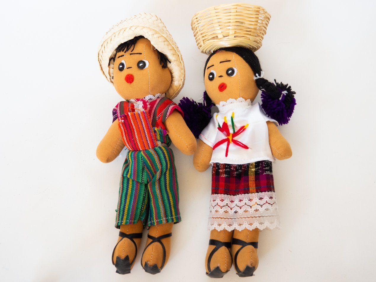 Muñecas tradicionales guatemaltecas