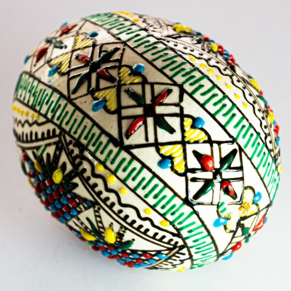 comprar Huevo de Pascua pintado a mano