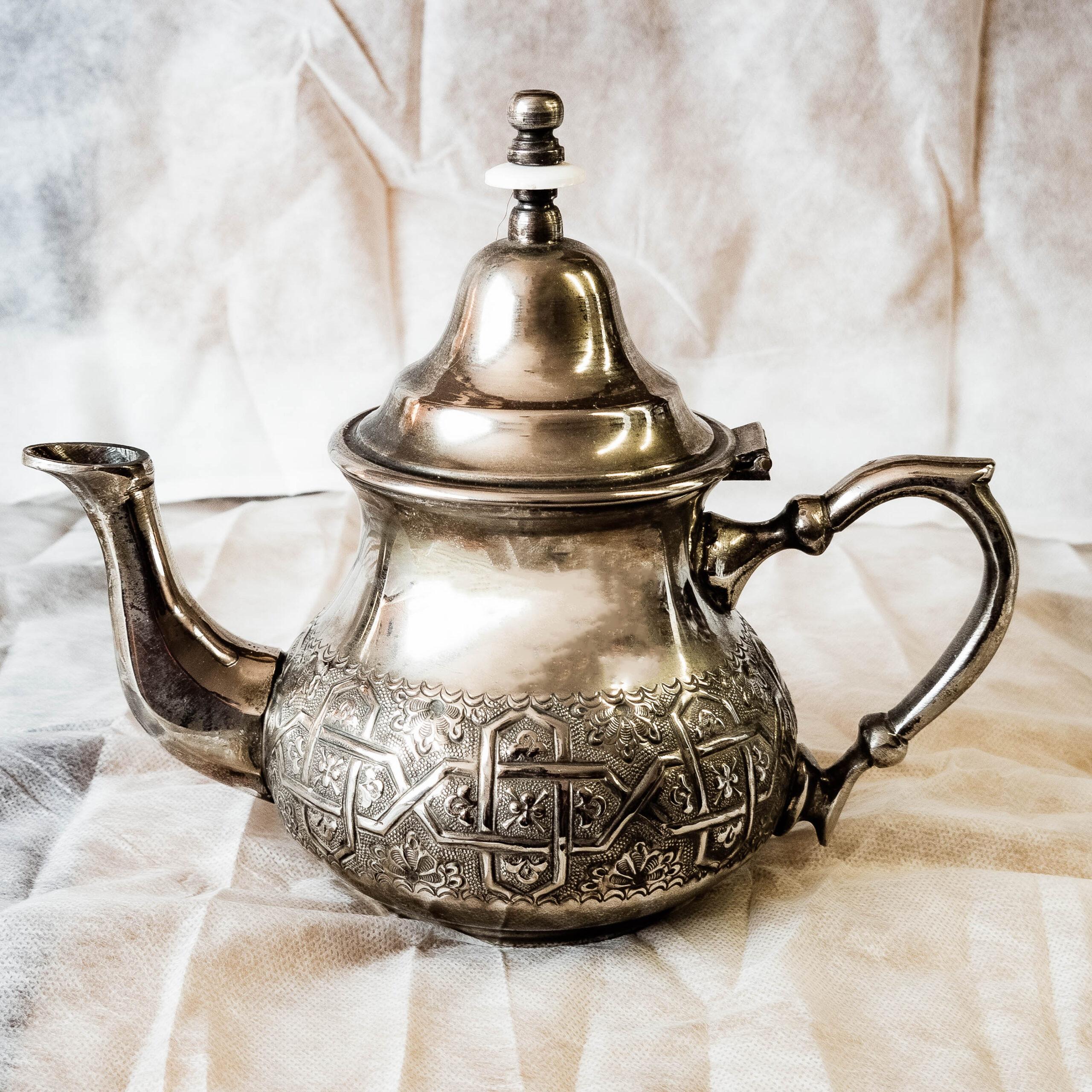 Tetera bereber de Marruecos